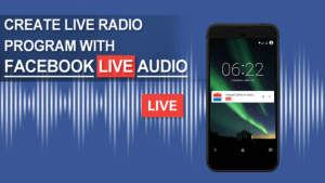 Facebook Live Audio SAM Broadcaster
