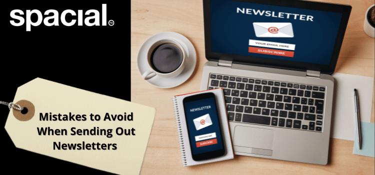 Newsletter mistakes to avoid